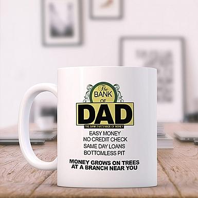 The bank of Dad-Ceramic Mug