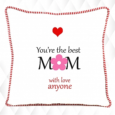 The Best Mom-Personalised Cushion