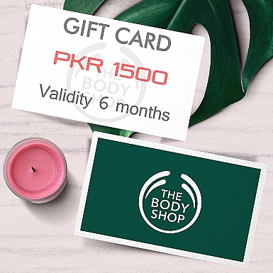 The Body Shop Gift Card- Rs.1500