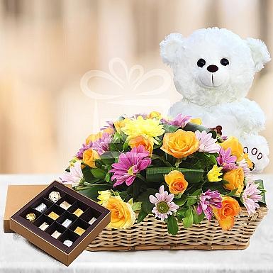 Triple Bounty Flower Gift