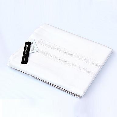White Unstitched Khaddar Suit for Mens