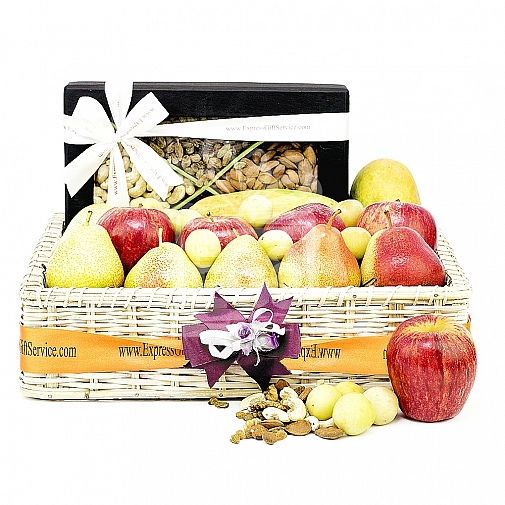 Wholesome Fruits and Nuts Basket