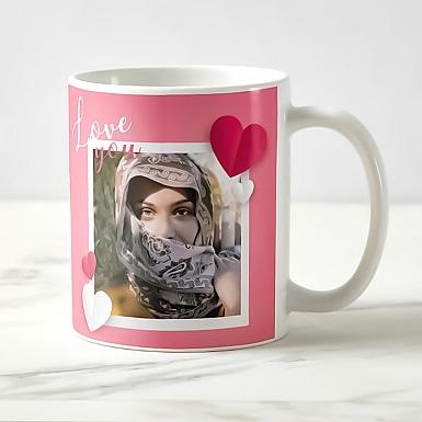 Love You Personalised Photo Mug