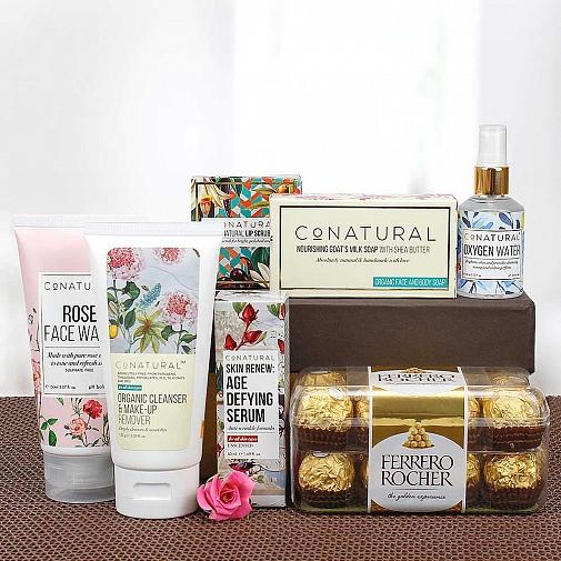 Organic Spa Gift Hamper