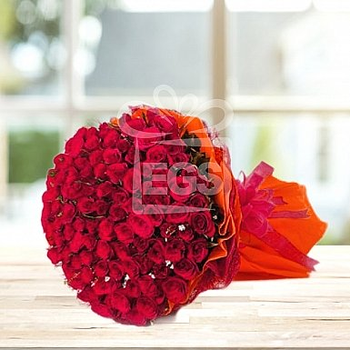 250 Red Roses Bouquet