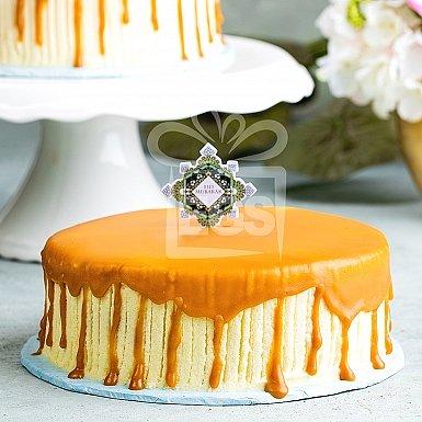2Lbs Vanilla Caramel Cake - Pie in the Sky