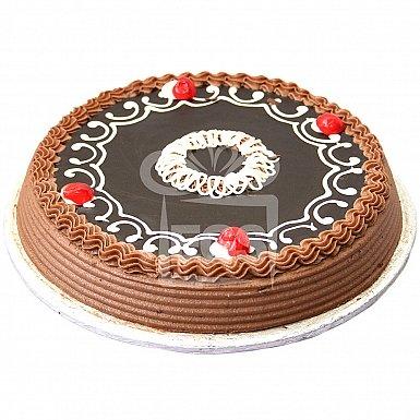 2Lbs Dark Chocolate Cake - Tehzeeb Bakers