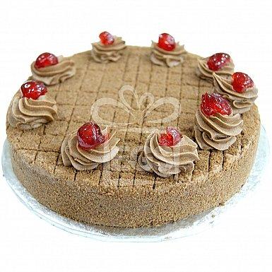 2Lbs Dry Chocolate Brownie Cake - Data Bakers