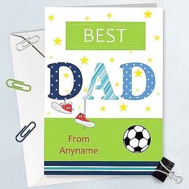 Best Dad - Personalised Card