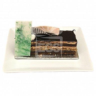 Chocolate Opera Pastry - Serena Hotel