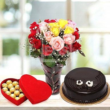 Chocolate Rose Gift