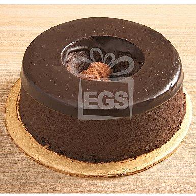 1.5Lbs Chocolate Truffle Ring Cake - Pie in The Sky