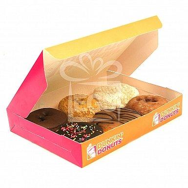 6 Mix Donuts Box - Dunkin Donuts