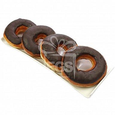 Dark Chocolate Donuts - Marriott Hotel
