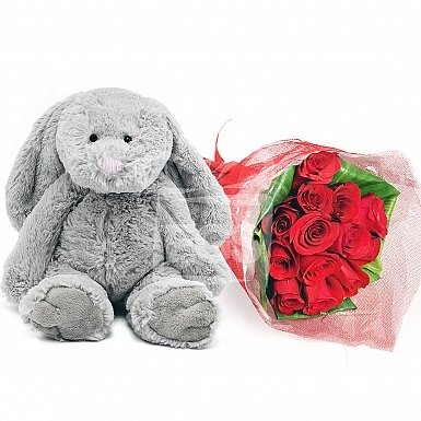 Forever Yours Rose and Bunny Combo