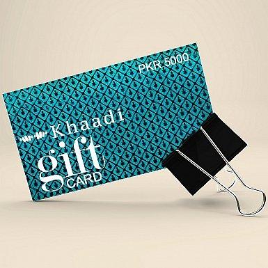 Khaadi Gift Card- Rs.5000