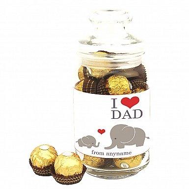 Love Dad-Personalised Jar