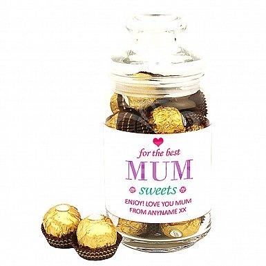 Sweets for Mum-Ferrero Rocher Jar