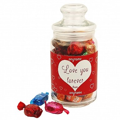 Love You Forever-Quality Street Jar