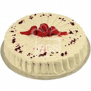 2Lbs Red Velvet Cream Cake -Tehzeeb Bakers