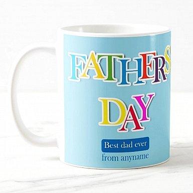 Best Dad-Personalised Mug