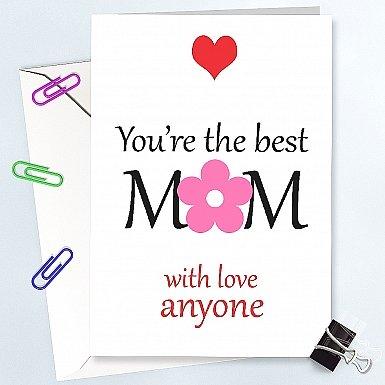 Best Mom-Personalised Card