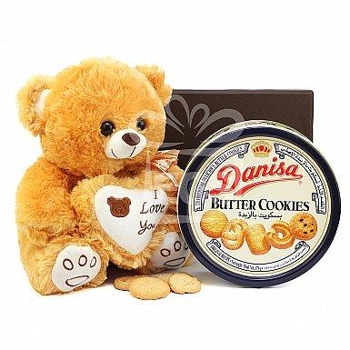 Butter Cookies Love Hamper