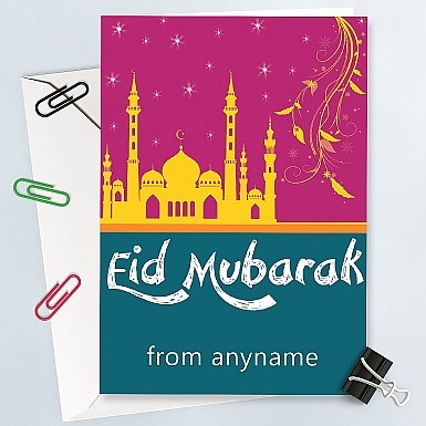 Eid Day Personalised Card