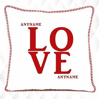 Love - Personalised Cushion