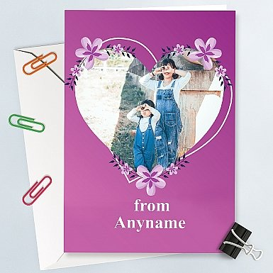 Mother's Day-Personalised Photo Card