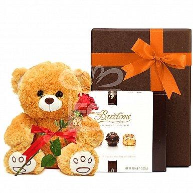 Teddy & Chocolate Love Hamper