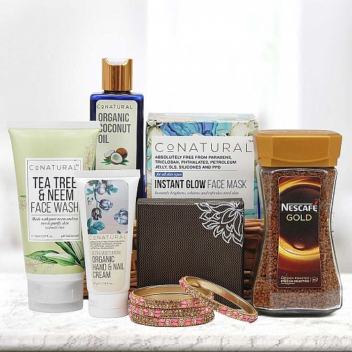 Face and Nail Care Hamper